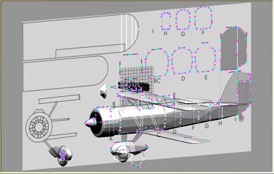 RC Model Drawing in progress