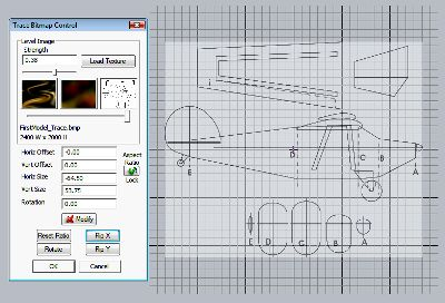 DAM CAD sketch mode